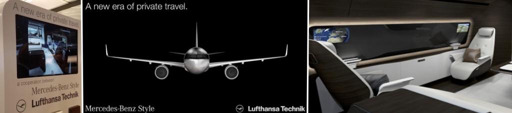 Lufthansa EBACE Montage